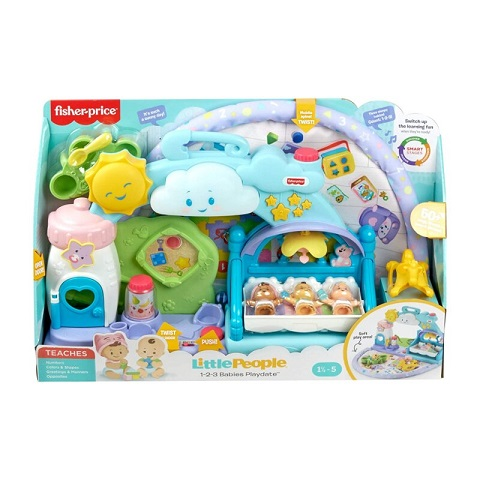 Fisher Price Little People 1-2-3 Babies Playdate Set
