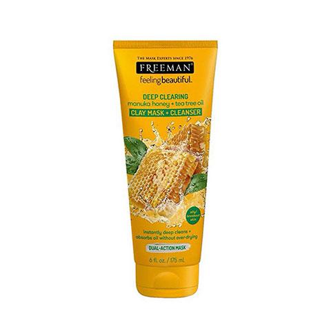 Freeman Deep Clearing Manuka Honey + Tea Tree Oil Clay Mask + Cleanser 175ml