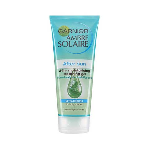 Garnier Ambre Solaire After Sun 24hr Moisturising Ultra Cooling Soothing Gel 200ml