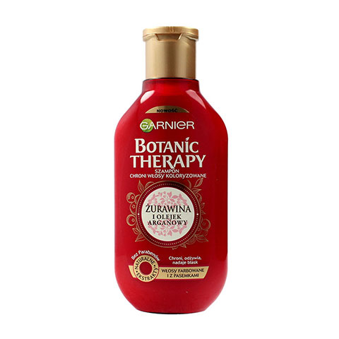 Garnier Botanic Therapy Cranberry and Argan Oil Hair Shampoo 400ml (5501)