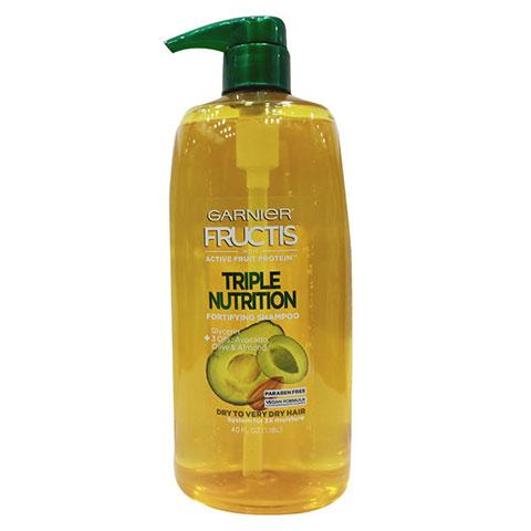 Garnier Fructis Triple Nutrition Fortifying Shampoo 1.18L