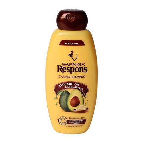 Garnier Respons Caring Shampoo With Avocado Oil & Shea Butter 400ml