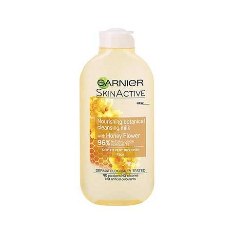 Garnier Skin Active Nourishing Botanical Cleansing Milk With Honey Flower For dry To Very Dry Skin 200ml