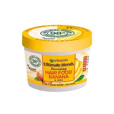 Garnier Ultimate Blends Nourishing Hair Food Banana & Shea 3 In 1 Dry Hair Mask 390ml