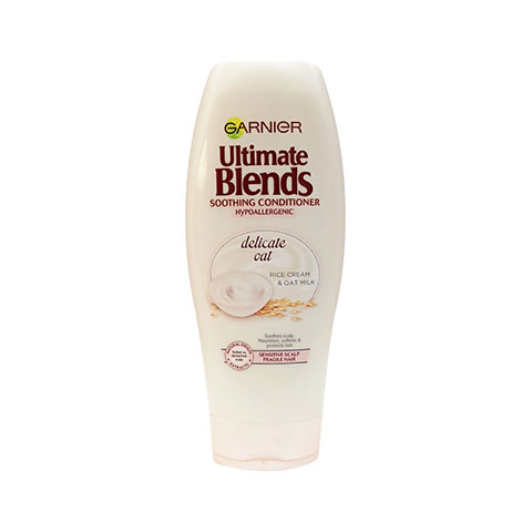 Garnier Ultimate Blends Soothing Conditioner Hypoallergenic With Delicate Oat 360ml