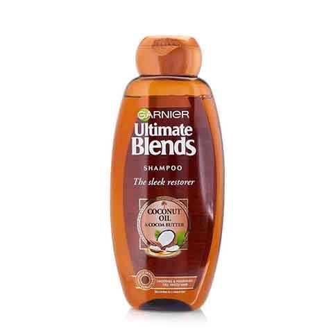 Garnier Ultimate Blends The Sleek Restorer Hair Shampoo 360ml