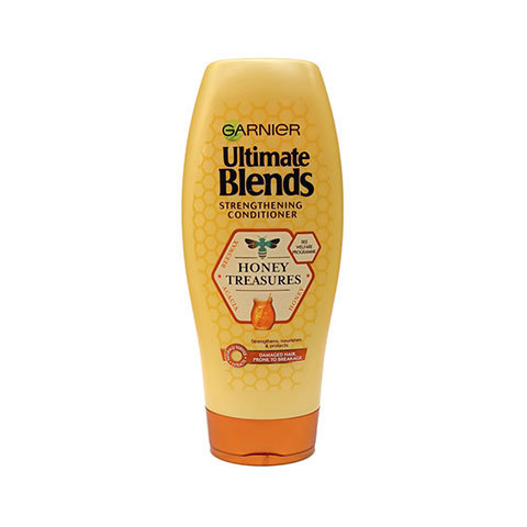 Garnier Ultimate Blends Honey Treasures Strengthening Conditioner 360ml