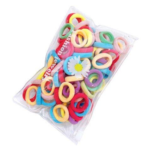 Multi Color Hair Rubber Band (20142)