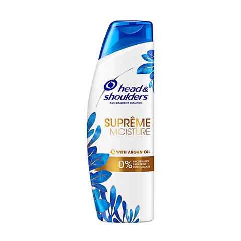 Head & Shoulders Supreme Moisture Anti - Dandruff Shampoo With Argan Oil 225ml