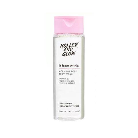 Holler And Glow Morning Rose Body Wash 240ml