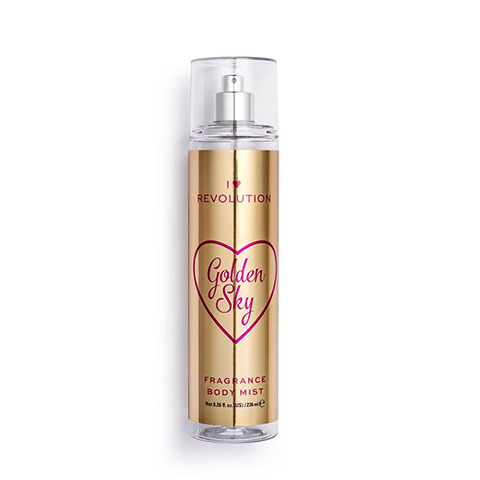 I Heart Revolution Golden Sky Fragrance Body Mist 236ml