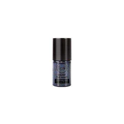 J. Cat Beauty Rockin The Night Sparkling Powder Loose Glitter Eye Shadow - Sp210 Bondi Black