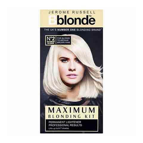 Jerome Russell Bblonde Maximum Blonding Kit 2  Permanent Hair Colour