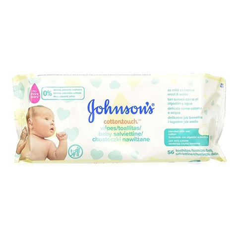 Johnson's Cottontouch Baby Wipes - 56 Wipes