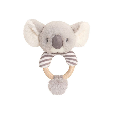 Keel Toys Keeleco Cozy Koala Ring Rattle ( 7134 )