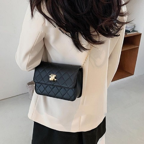 Korean Style All Match Small Square One Shoulder Messenger Bag (1001031)