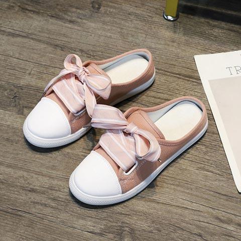 Korean Version Semi Trailer Canvas Shoes