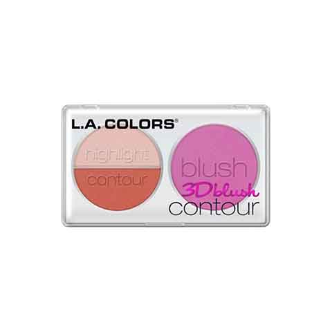 L.A. Colors 3D Blush Contour - CBL807 True Love