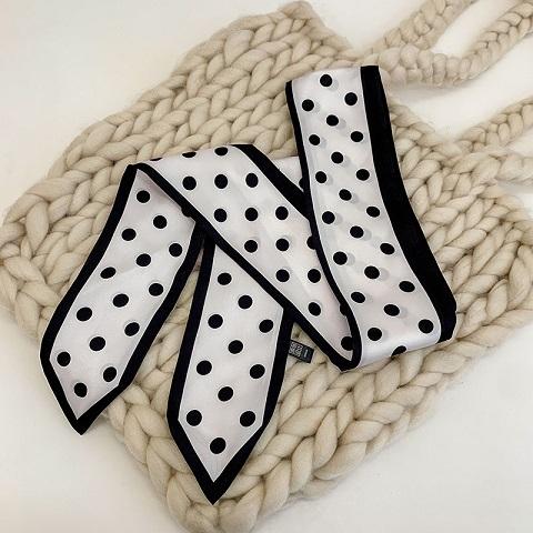 Ladies Silk Scarf Headband - 001