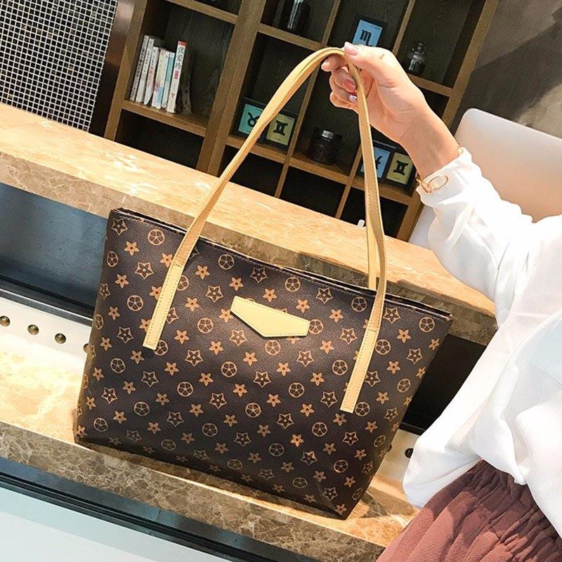 Large Capacity Simple Female Student Handbag (1001045)