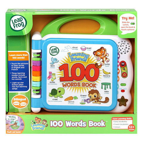 Leapfrog Learning Friends 100 Words Book (5037)