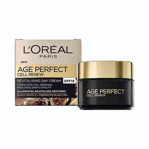 L'Oreal Age Perfect Cell Renew Revitalising Day Cream 50ml - SPF15