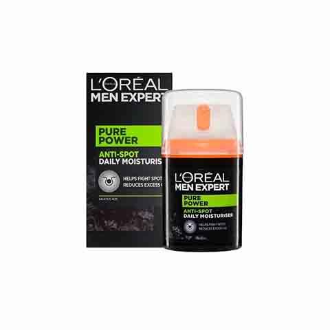 L'oreal Men Expert Pure Power Active Anti-Spot Daily Control Moisturiser 50ml