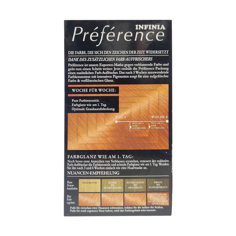 L'oreal Paris Infinia Preference Hair Colour - 74 Irland