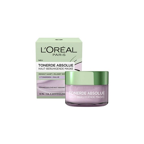 L'oreal Paris Pure Clay Tonerde Absolue Skin Soothing Mask 15ml (7478)