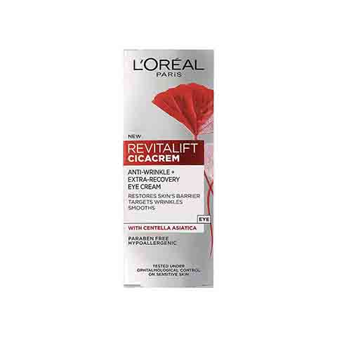 L'Oreal Paris Revitalift Cicacrem Anti-Wrinkle Eye Cream 15ml