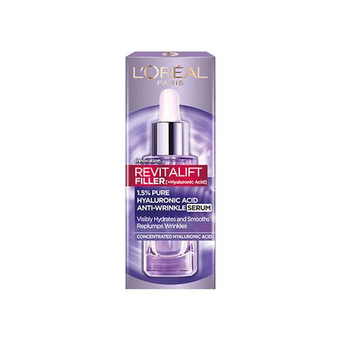 L'Oreal Paris Revitalift Filler Hyaluronic Acid Anti-Wrinkle Serum 30ml