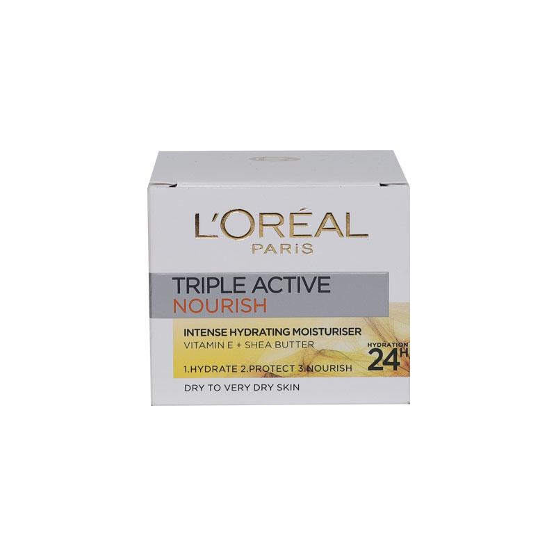 L'Oreal Paris Triple Active Nourish Intense Hydrating Moisturiser 50ml