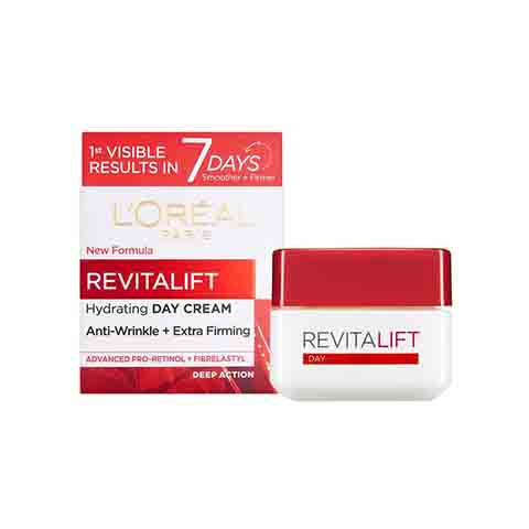 L'oreal Revitalift Anti-Wrinkle + Extra-Firming Day Cream 50ml - 40+