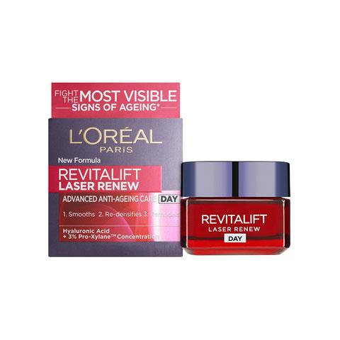 L'oreal Revitalift Laser Renew Advanced Anti Ageing Day Cream 50ml - Age 40+