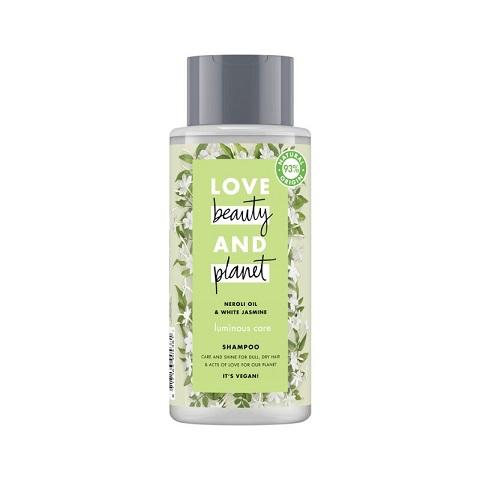 Love Beauty And Planet Luminous Care Shampoo With Neroli Oil & White Jasmine 400ml