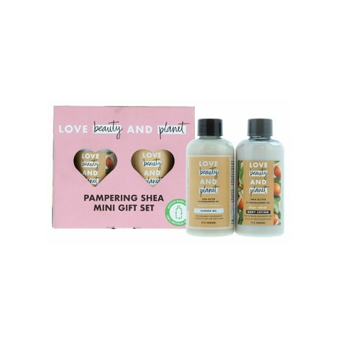 Love Beauty And Planet Pampering Shea Mini Gift Set