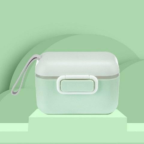 Macaron Portable Milk Powder Box - Green