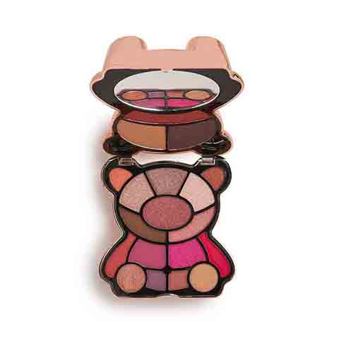Makeup Revolution I Heart Revolution Teddy Bear Eyeshadow Palette - Rosie