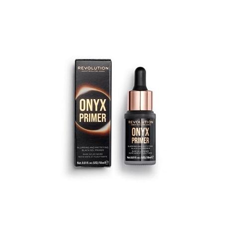 Makeup Revolution Onyx Blurring And Mattifying Black Gel Primer 18ml