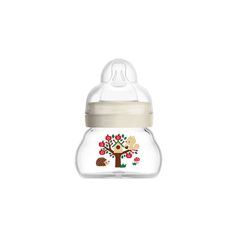 MAM Feel Good Extra Small Glass Baby Bottle 90ml - 0m (7819)