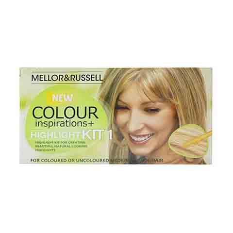 Mellor & Russell Colour Inspirations & Highlight For - Medium Blonde Hair Colour Kit 1