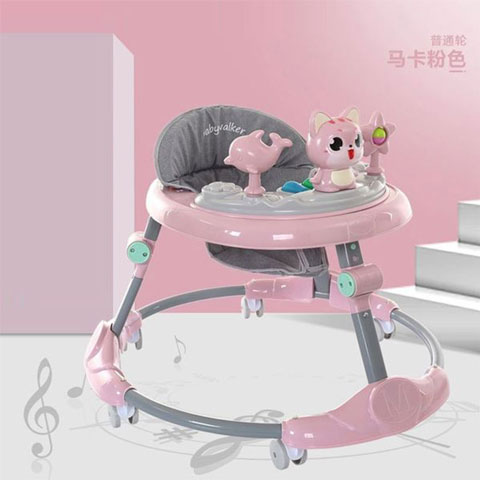 Mengbao  Early Learning Walker Music Toy - Pink