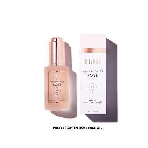 Milani Prep + Brighten Rose Face Oil 30ml