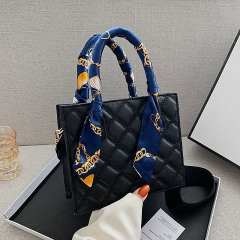 Mini Dior Style Ladies Bag With Scarf (1001049)