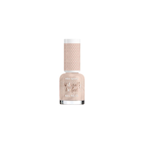 Miss Sporty Naturally Perfect Nail Polish 8ml - Vanilla Flavor