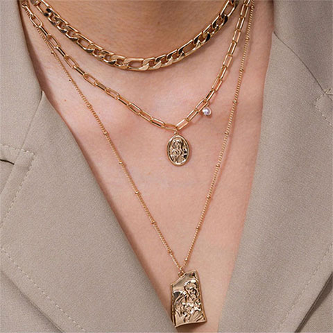Multilayer Fashionable Necklace for Women