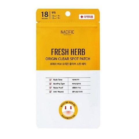 Nacific Fresh Herb Origin Clear Spot Patch 18 Patches