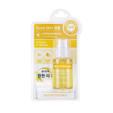 Nature Republic Niacinamide Good Skin Ampoule 30ml - Luminous Skin