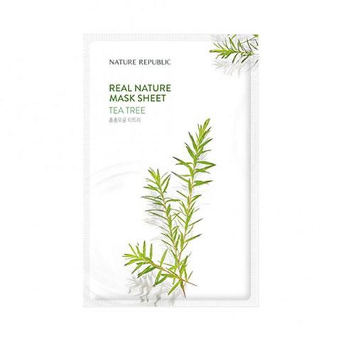 Nature Republic Real Nature Tea Tree Sheet Mask 23ml