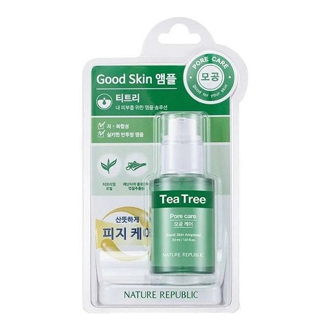 Nature Republic Tea Tree Good Skin Ampoule 30ml - Pore Care
